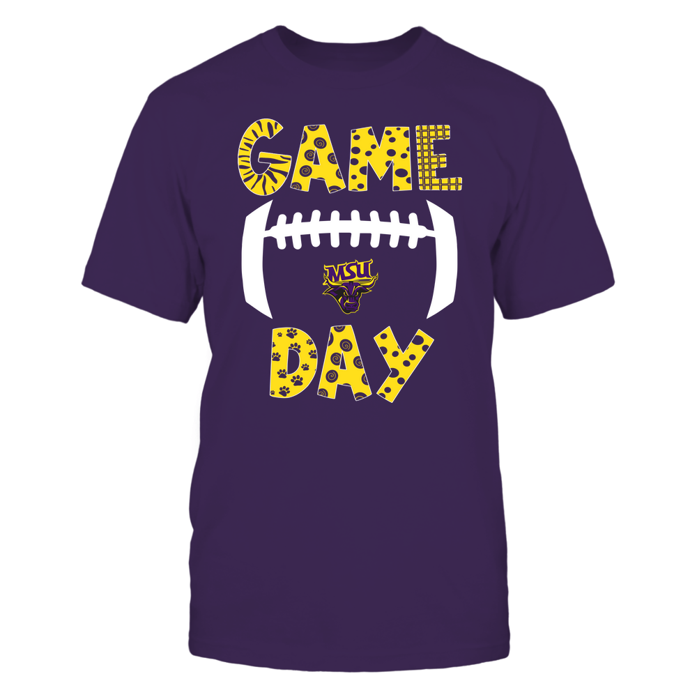 Minnesota State Mavericks - Game Day Doodle - Football - Team Front picture