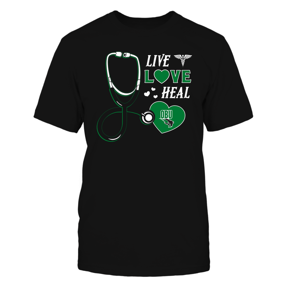 Oklahoma Baptist Bison - Nurse - Live Love Heal - Team Front picture