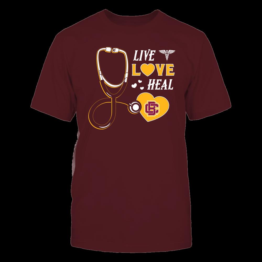 Bethune-Cookman Wildcats - Nurse - Live Love Heal - Team Front picture