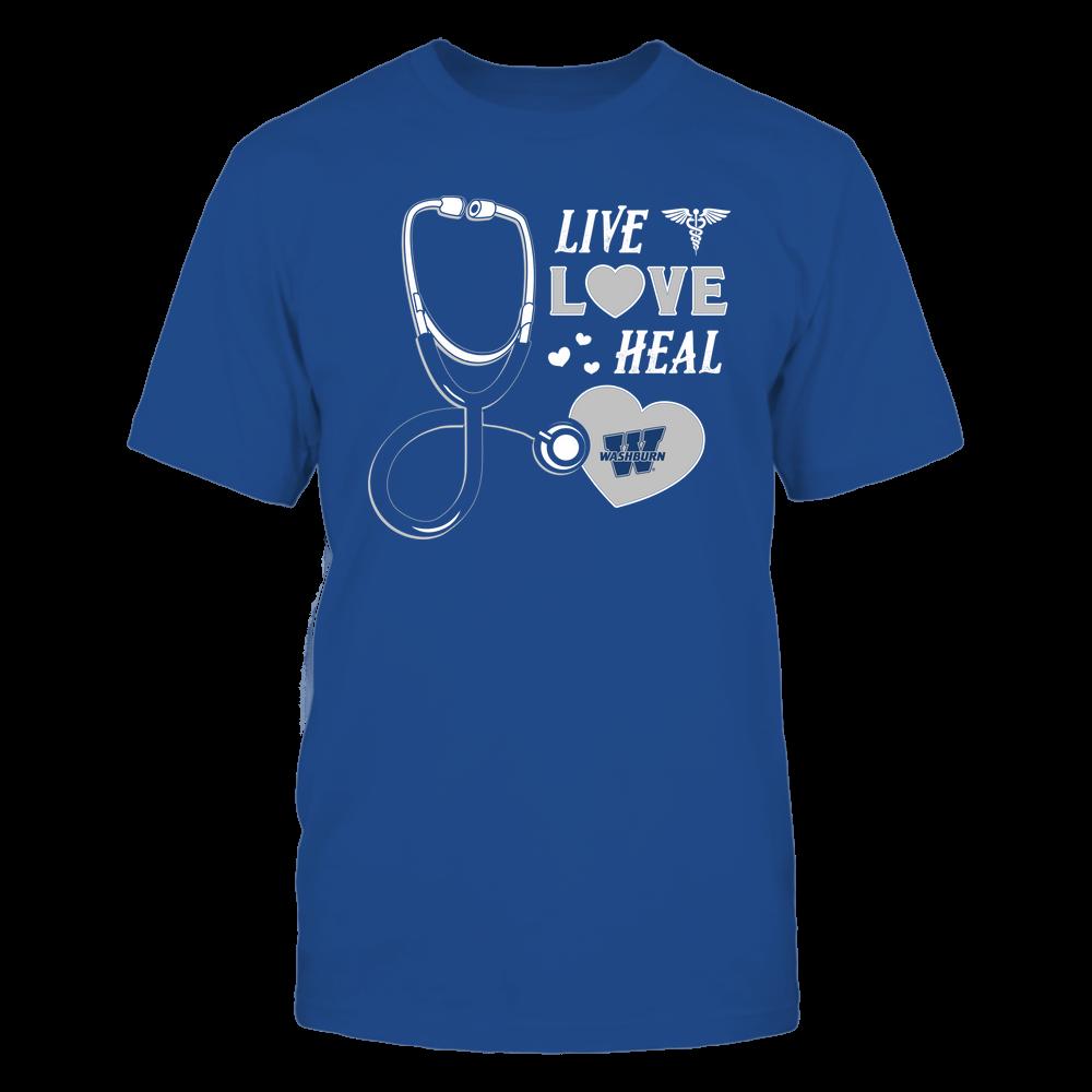 Washburn Ichabods - Nurse - Live Love Heal - Team Front picture