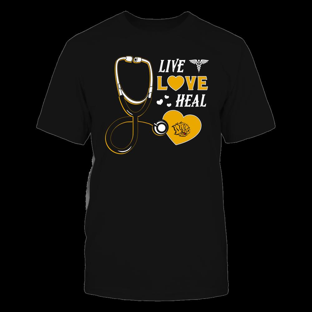 Arkansas Pine Bluff Golden Lions - Nurse - Live Love Heal - Team Front picture
