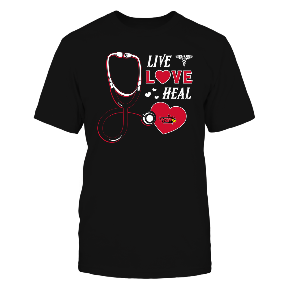 Illinois State Redbirds - Nurse - Live Love Heal - Team Front picture