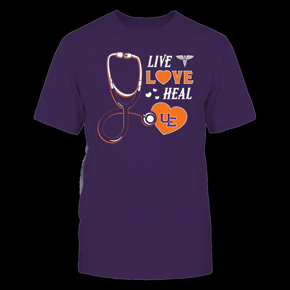 Evansville Purple Aces - Nurse - Live Love Heal - Team Front picture