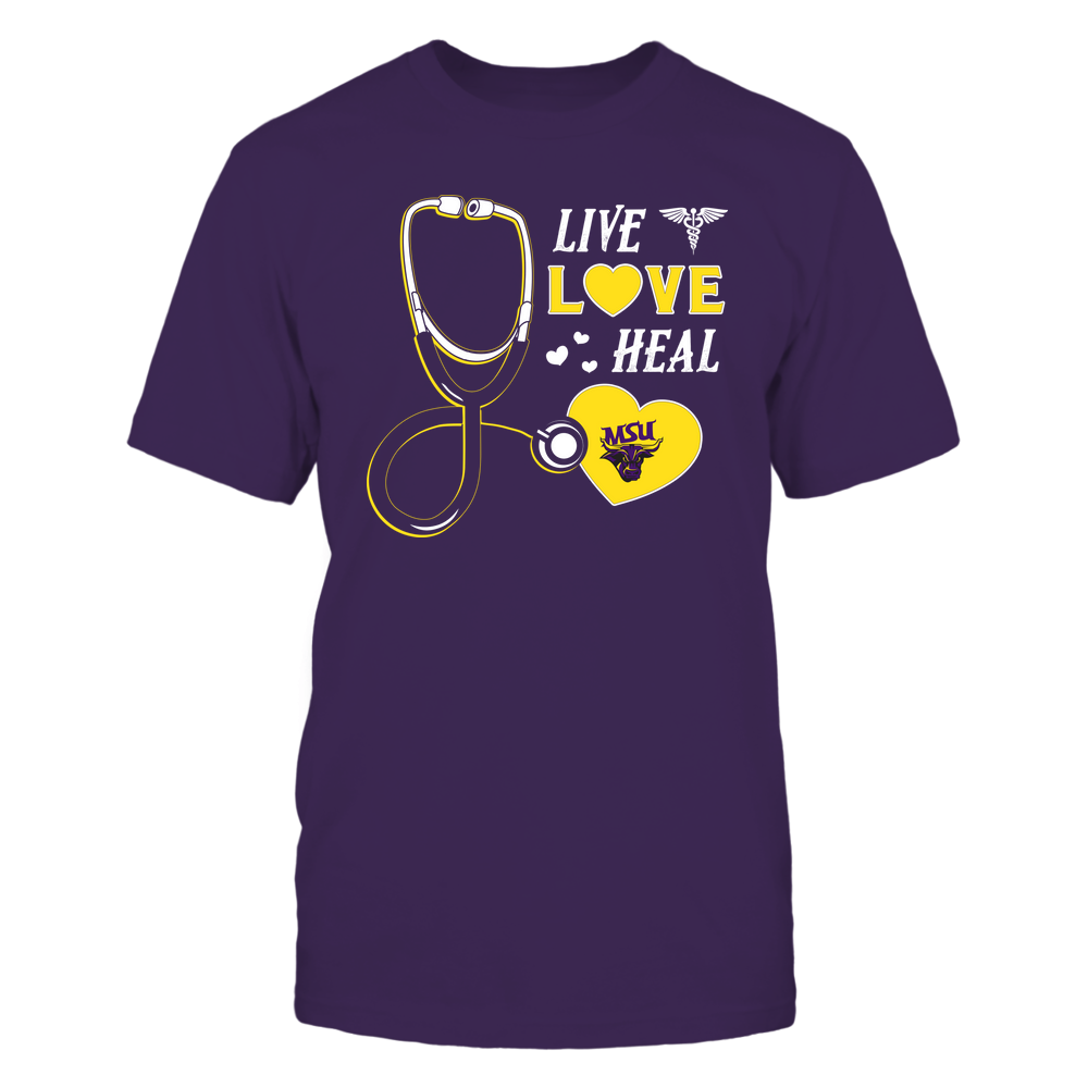 Minnesota State Mavericks - Nurse - Live Love Heal - Team Front picture