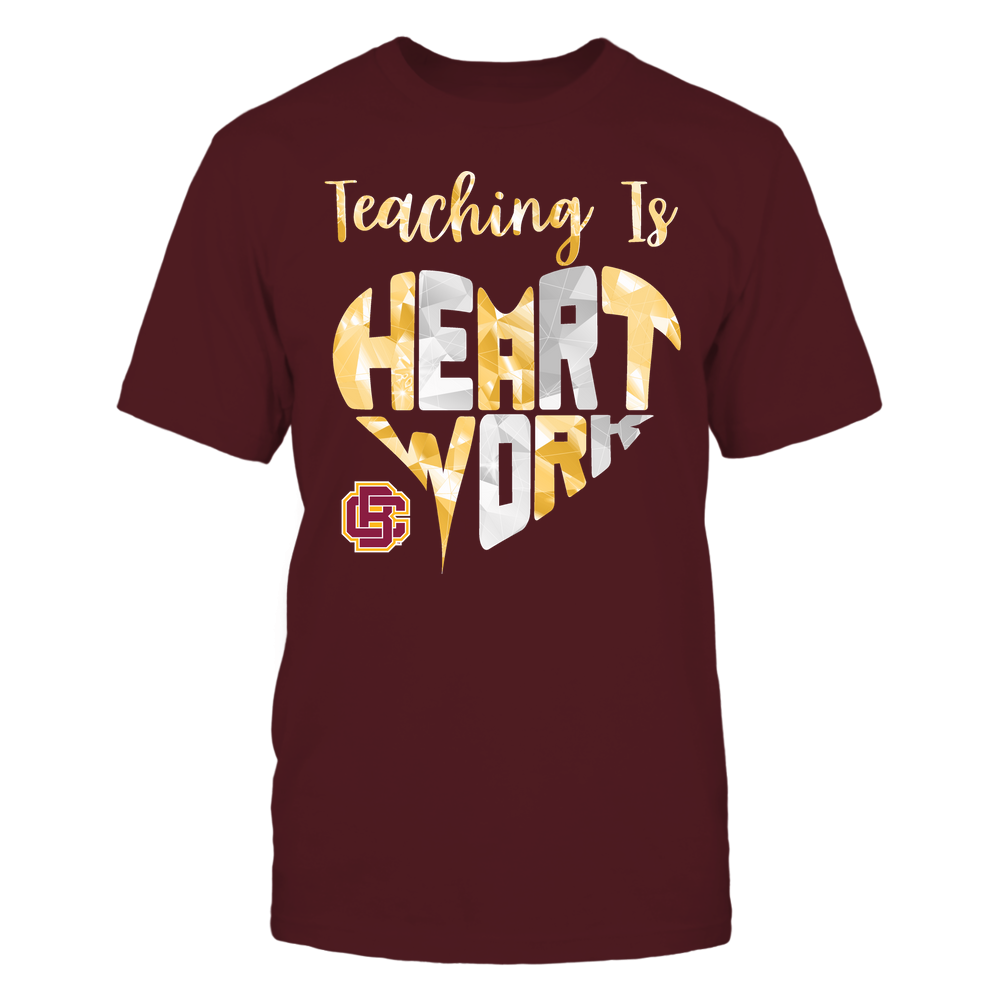 Bethune-Cookman Wildcats - Teaching Is Heart Work - Galaxy Pattern - Teacher Front picture