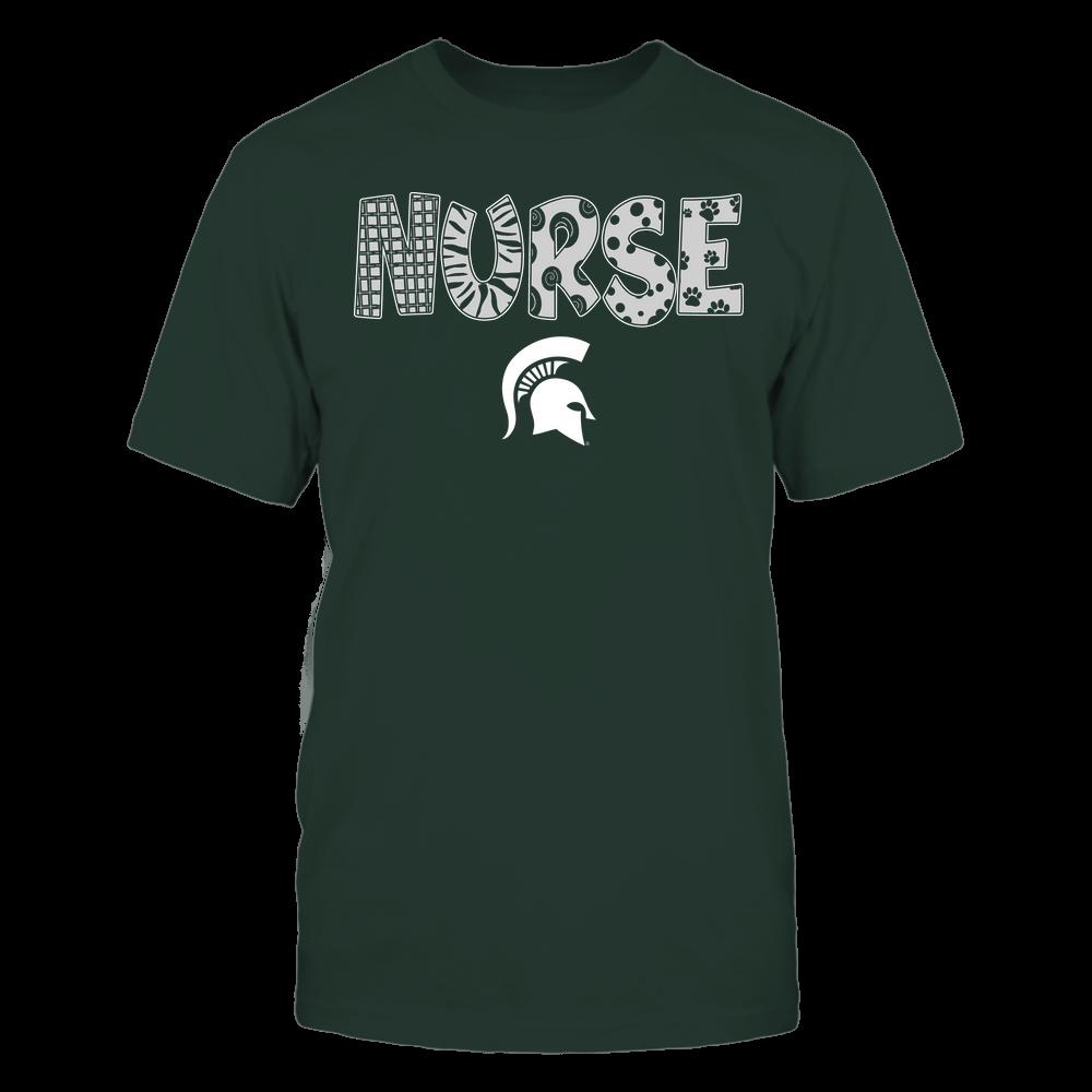 Michigan State Spartans - Nurse - Doodle - Team Front picture