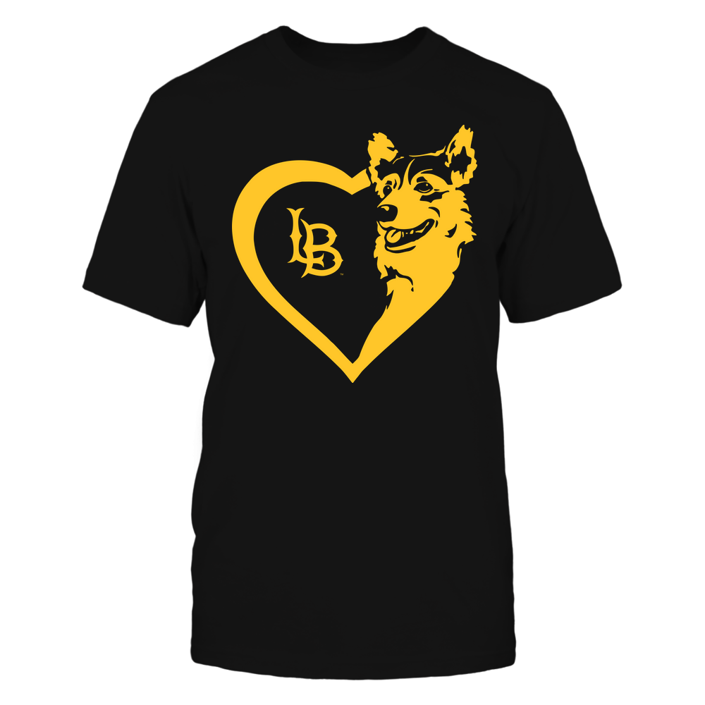 Long Beach State 49ers - Dogs - Corgi Heart - Team Front picture