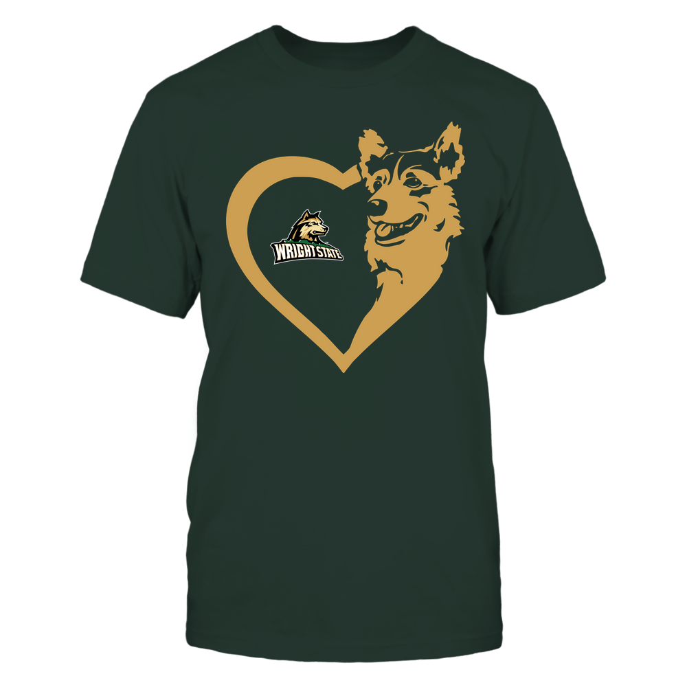 Wright State Raiders - Dogs - Corgi Heart - Team Front picture