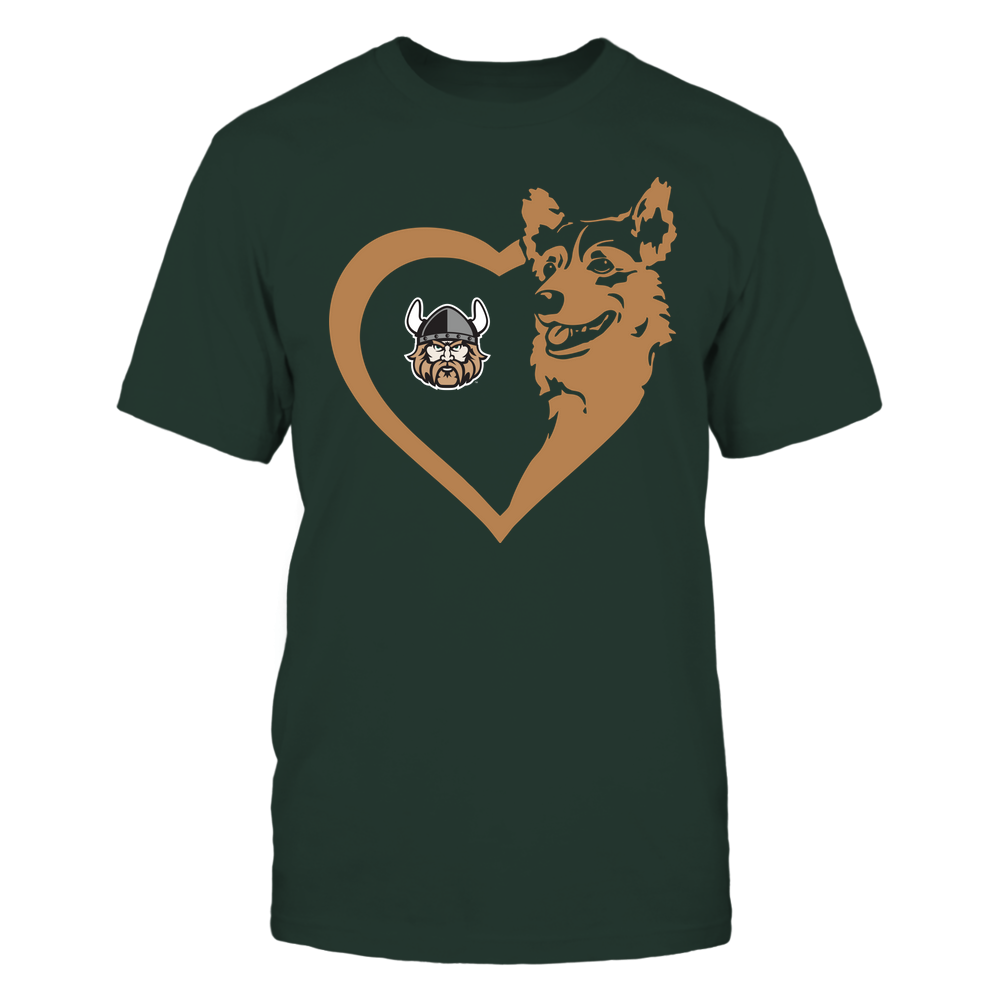 Cleveland State Vikings - Dogs - Corgi Heart - Team Front picture