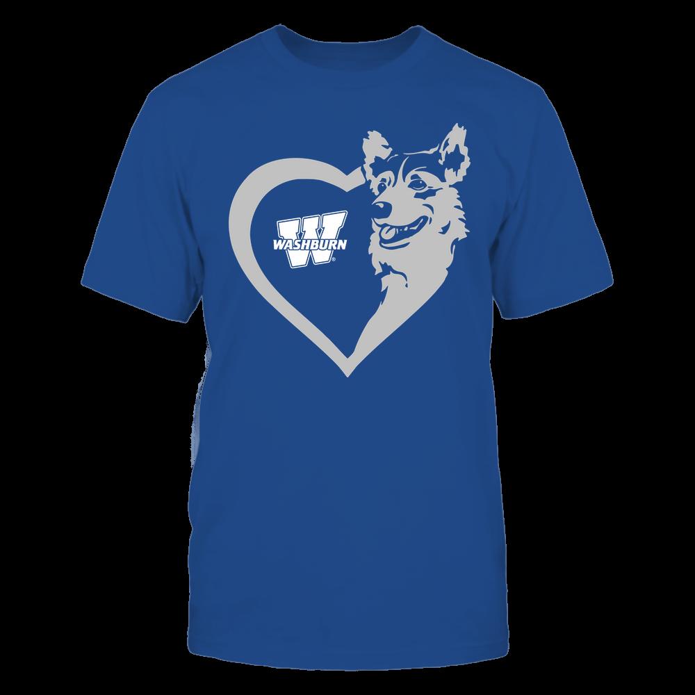Washburn Ichabods - Dogs - Corgi Heart - Team Front picture