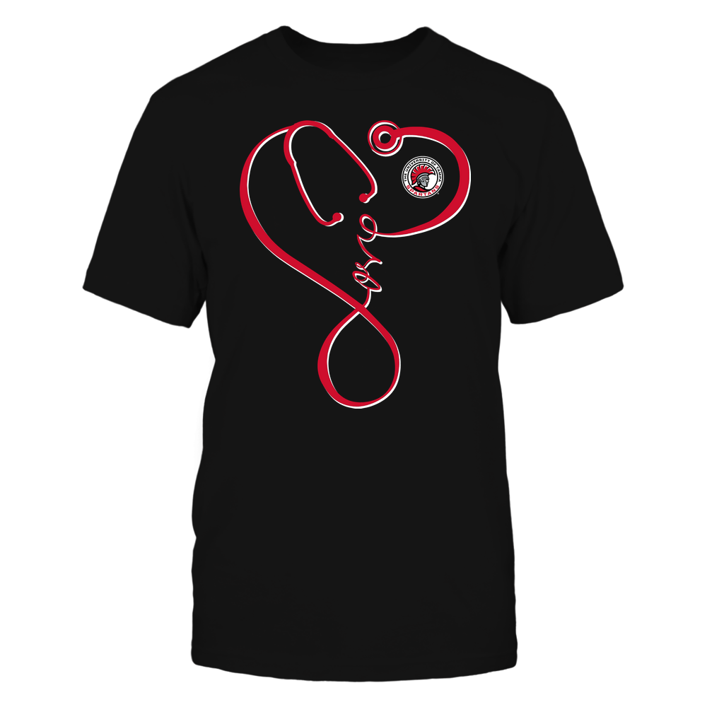 Tampa Spartans - Nurse - Infinity Love Stethoscope - Team Front picture