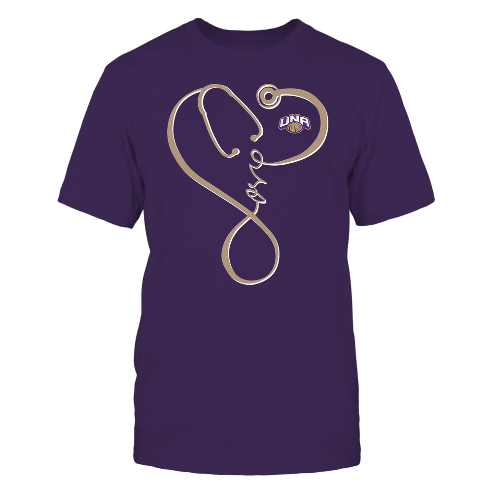 North Alabama Lions - Nurse - Infinity Love Stethoscope - Team Front picture