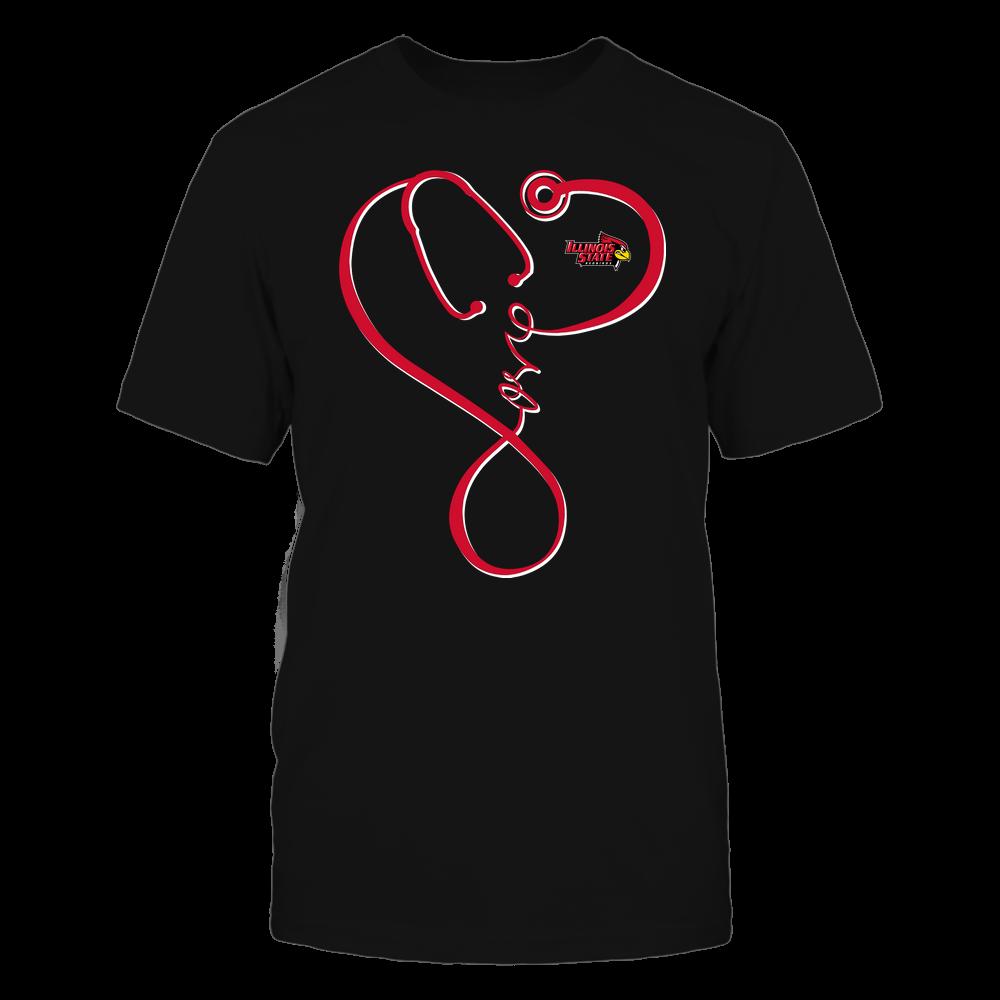Illinois State Redbirds - Nurse - Infinity Love Stethoscope - Team Front picture