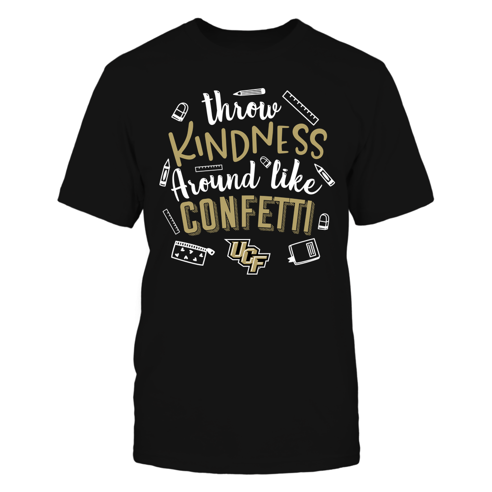 UCF Knights - Teacher - Throw Kindness Around Like Confetti - Team Front picture