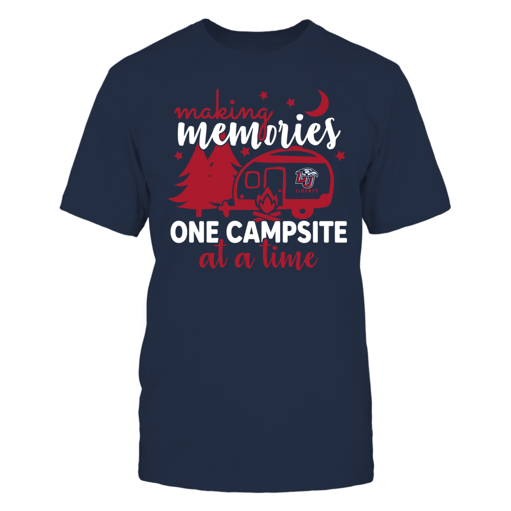 Liberty Flames - Camping - Making Memories One Campsite At A Time - Team Front picture