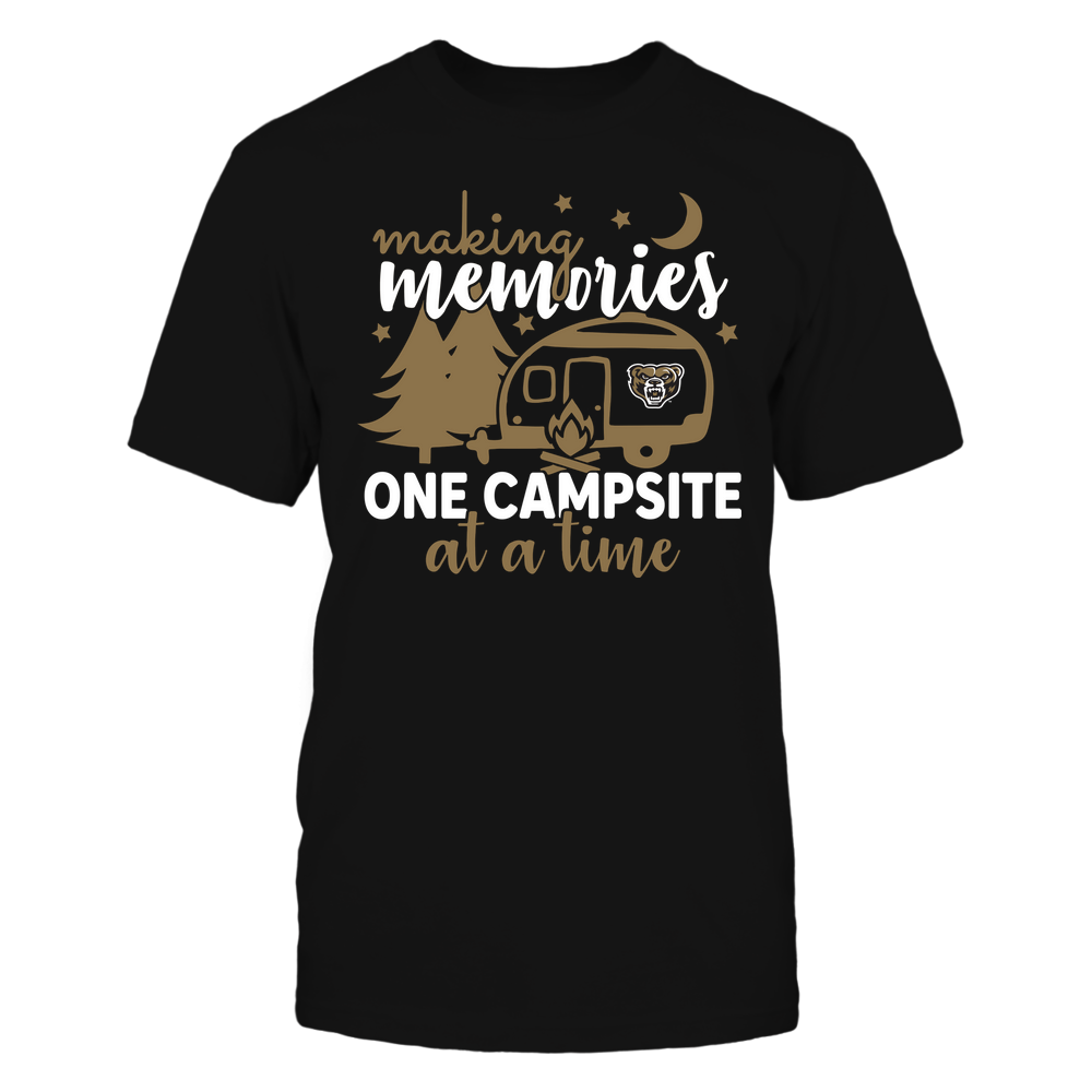Oakland Golden Grizzlies - Camping - Making Memories One Campsite At A Time - Team Front picture