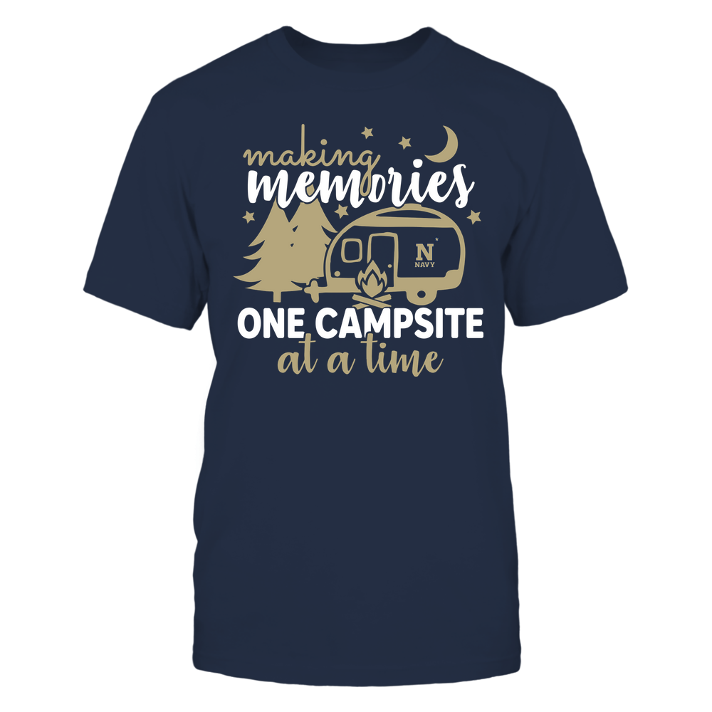 Navy Midshipmen - Camping - Making Memories One Campsite At A Time - Team Front picture