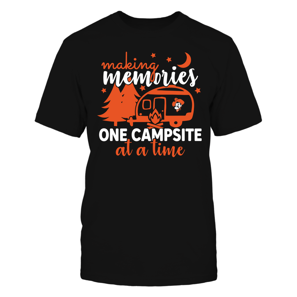 Oklahoma State Cowboys - Camping - Making Memories One Campsite At A Time - Team Front picture
