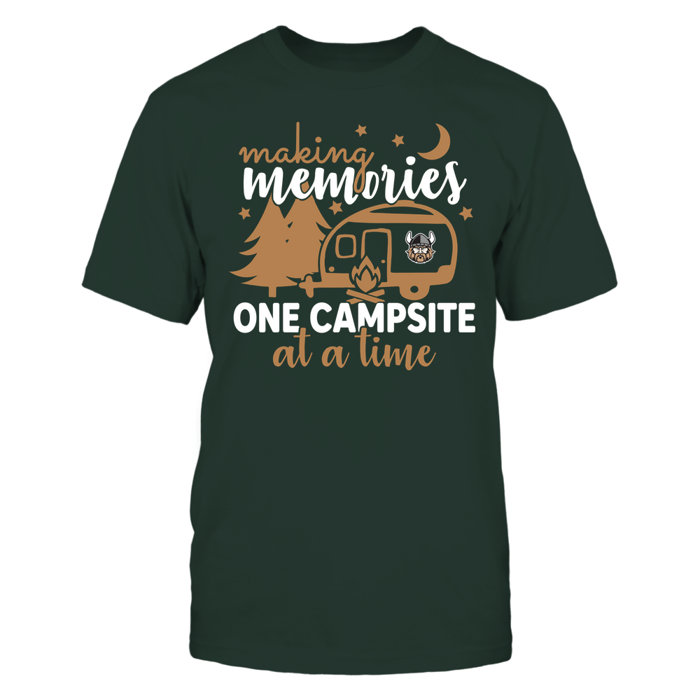 Cleveland State Vikings - Camping - Making Memories One Campsite At A Time - Team Front picture