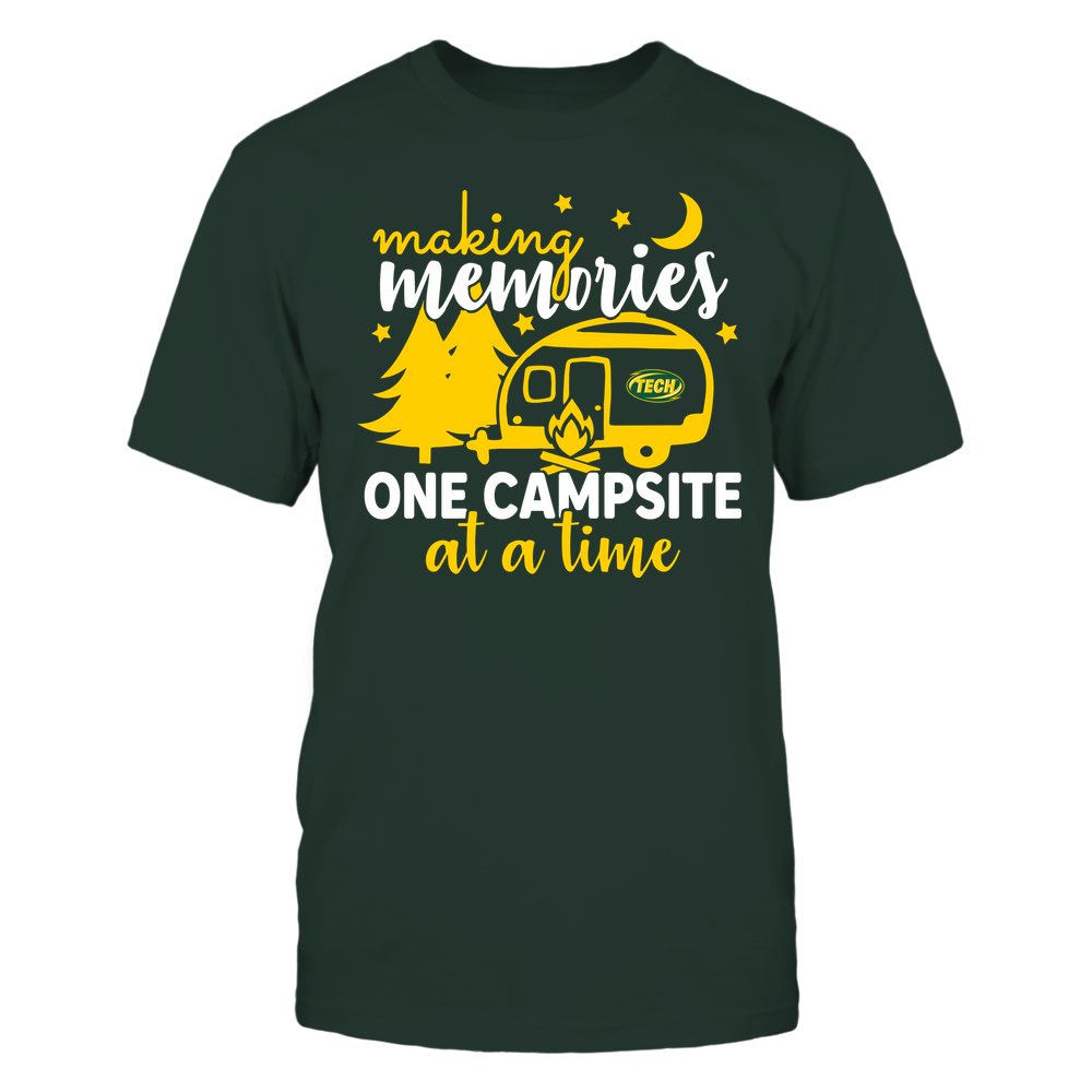 Arkansas Tech Golden Suns - Camping - Making Memories One Campsite At A Time - Team Front picture