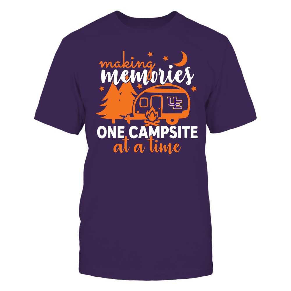 Evansville Purple Aces - Camping - Making Memories One Campsite At A Time - Team Front picture