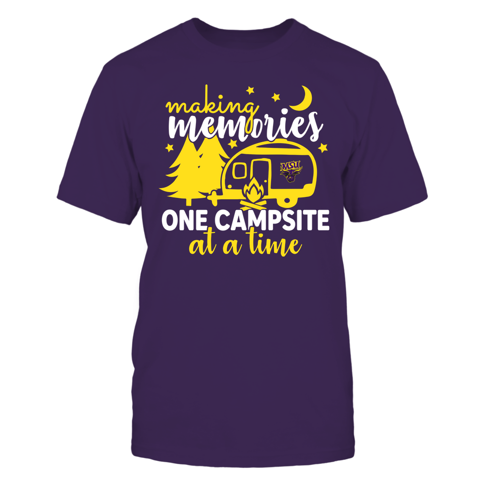 Minnesota State Mavericks - Camping - Making Memories One Campsite At A Time - Team Front picture