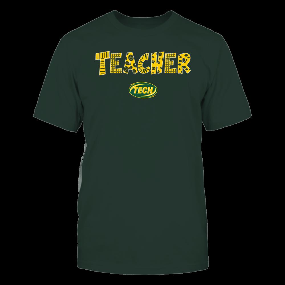Arkansas Tech Golden Suns - Teacher - Doodle - Team Front picture