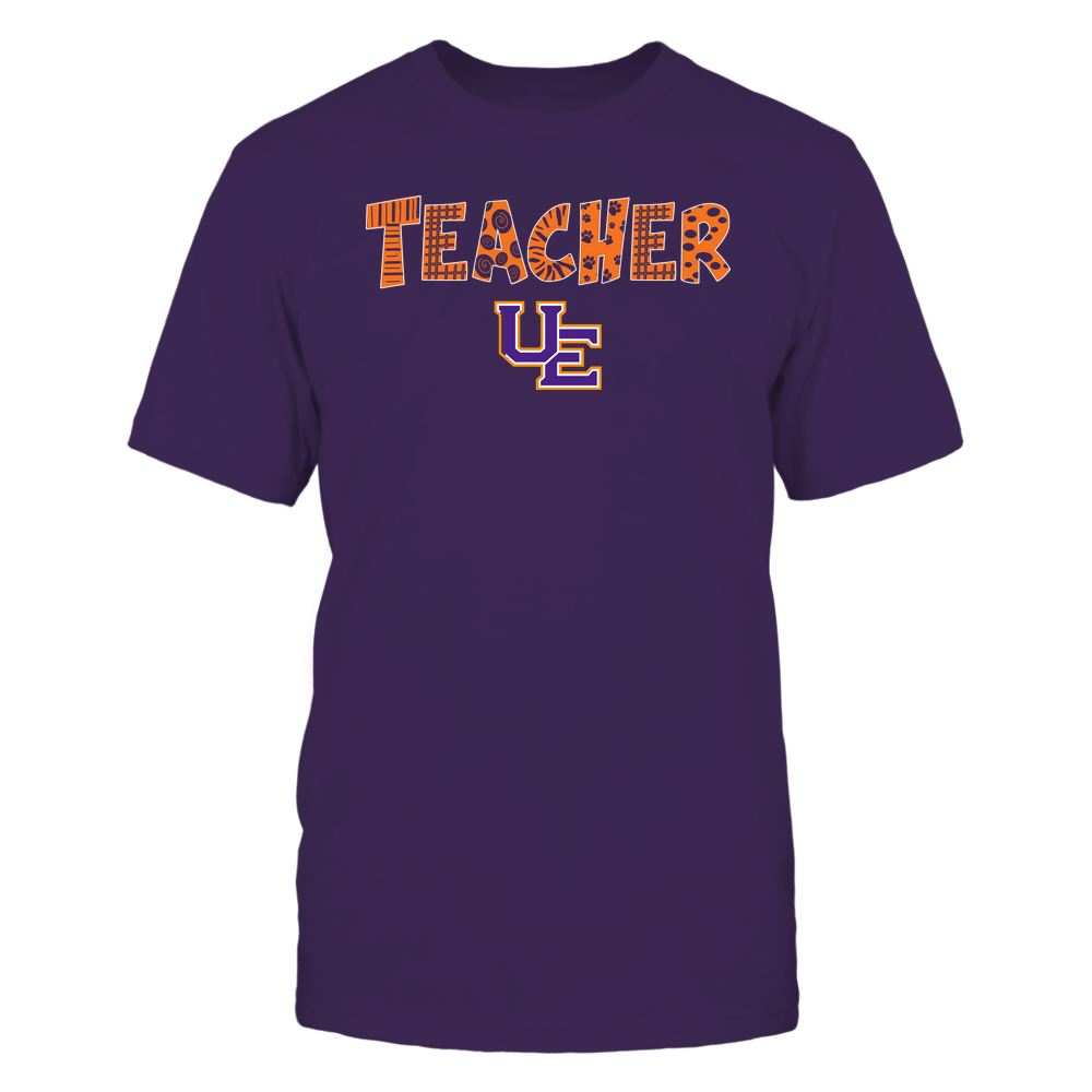 Evansville Purple Aces - Teacher - Doodle - Team Front picture