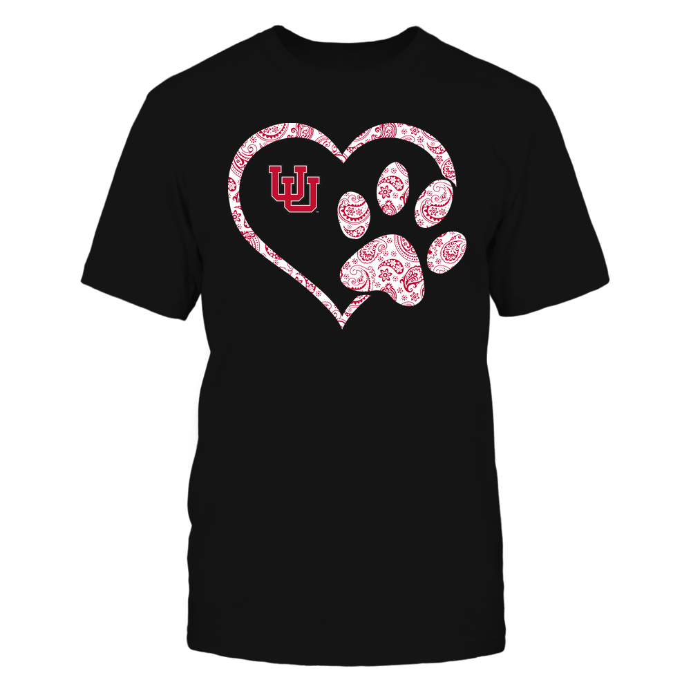 Utah Utes - Heart Paw Patterned - Team Front picture