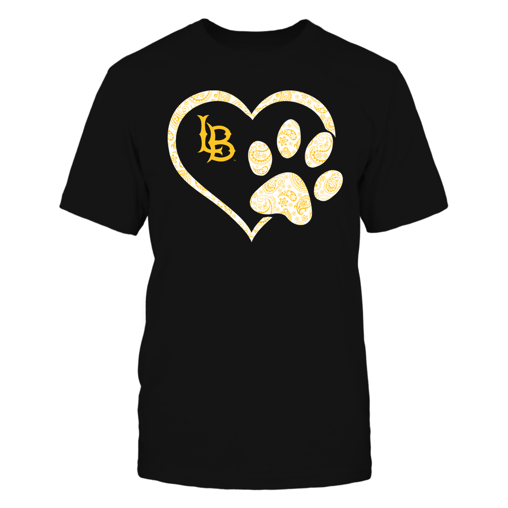 Long Beach State 49ers - Heart Paw Patterned - Team Front picture