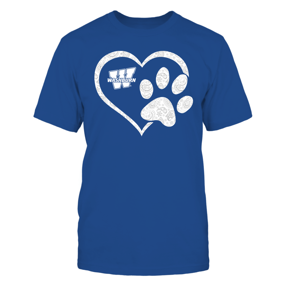 Washburn Ichabods - Heart Paw Patterned - Team Front picture