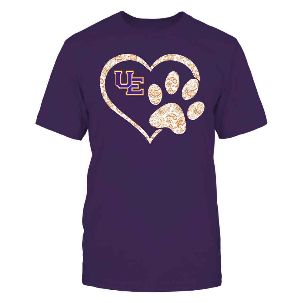 Evansville Purple Aces - Heart Paw Patterned - Team Front picture