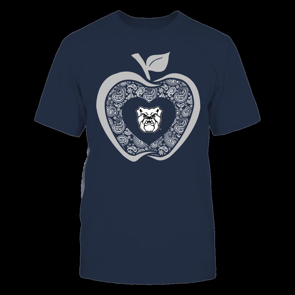 Butler Bulldogs - Teacher - Apple 3-4 - Paisley Pattern Front picture