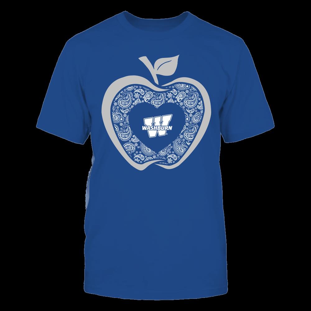Washburn Ichabods - Teacher - Apple 3-4 - Paisley Pattern Front picture