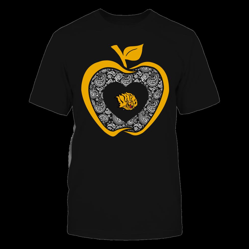 Arkansas Pine Bluff Golden Lions - Teacher - Apple 3-4 - Paisley Pattern Front picture