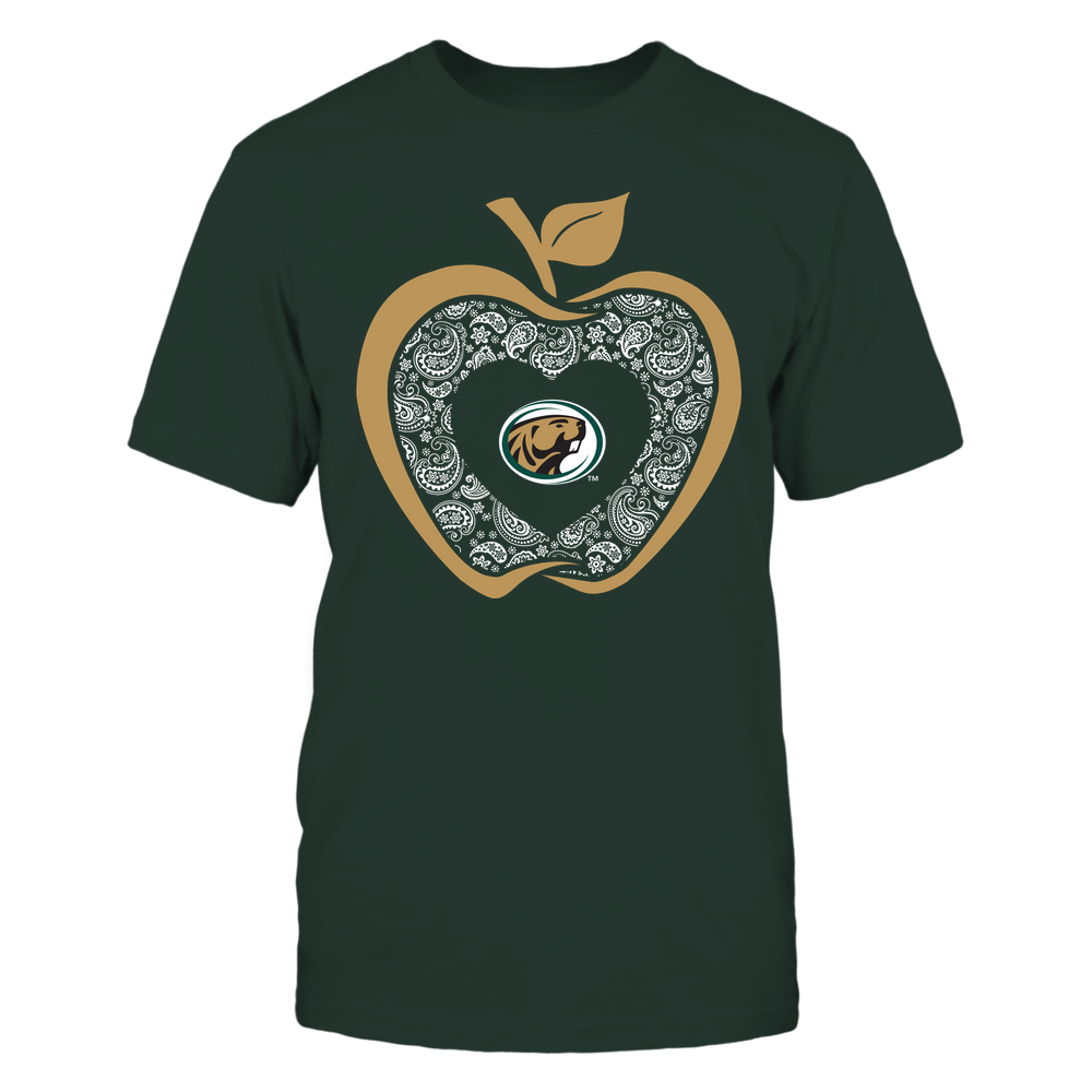 Bemidji State Beavers - Teacher - Apple 3-4 - Paisley Pattern Front picture