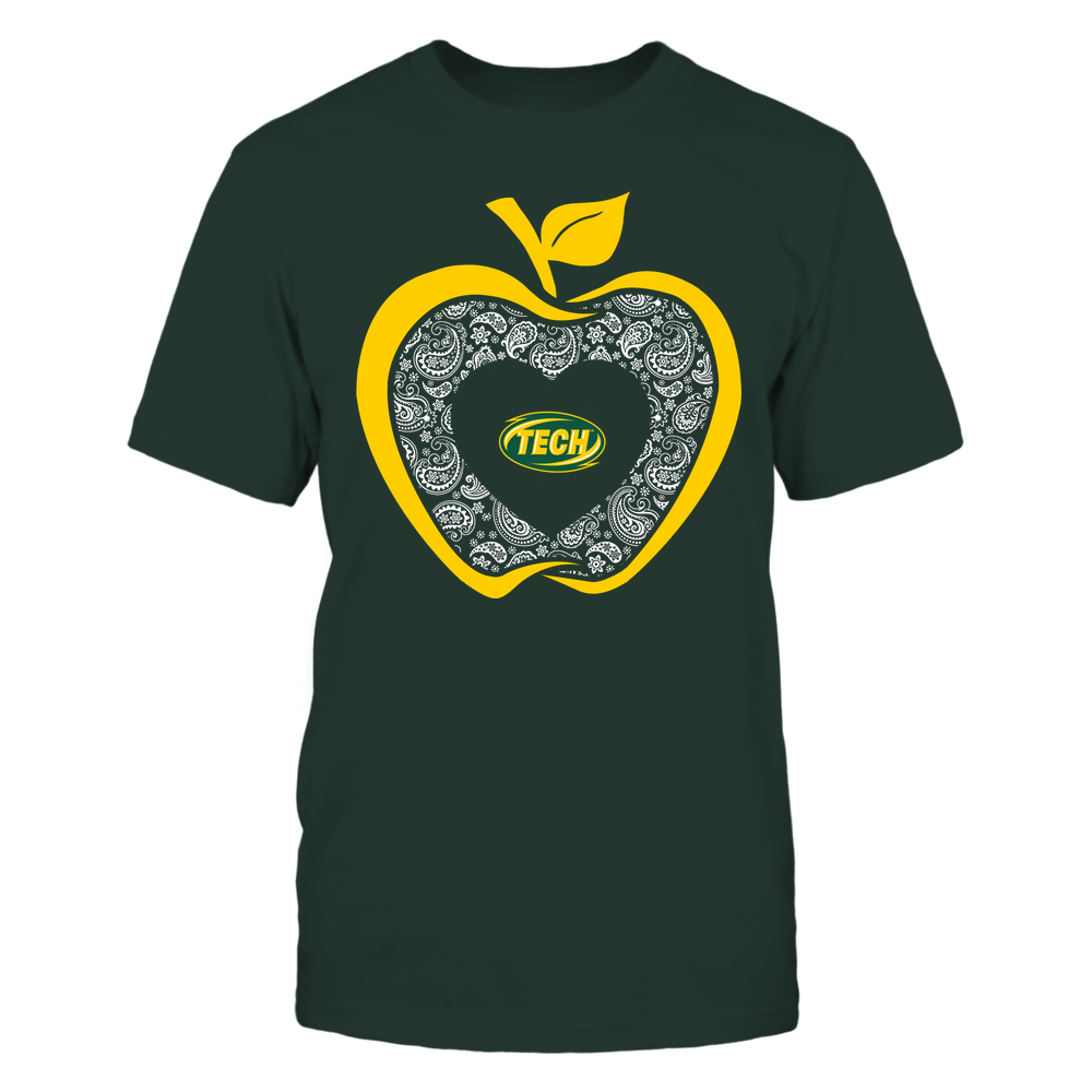 Arkansas Tech Golden Suns - Teacher - Apple 3-4 - Paisley Pattern Front picture