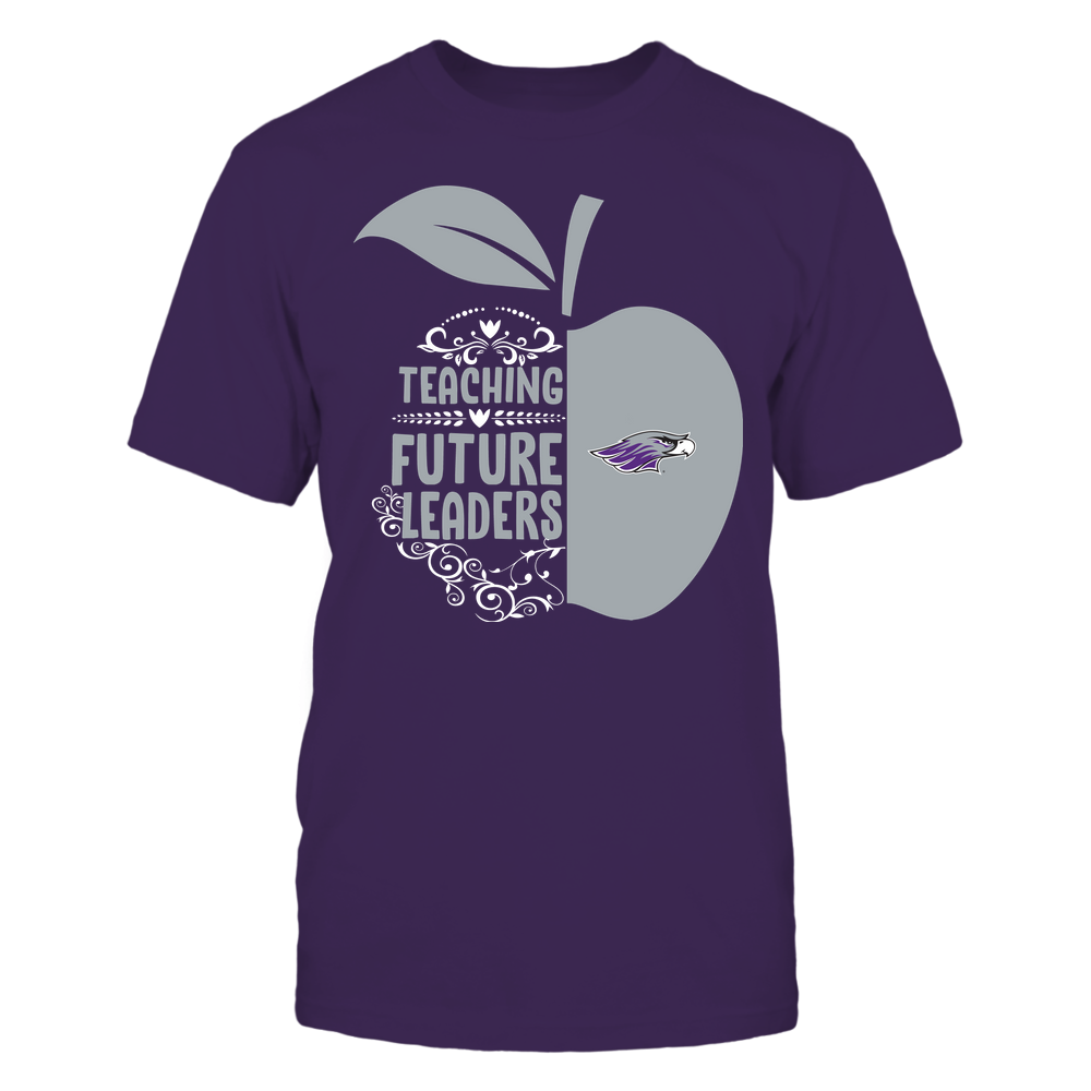 Wisconsin-Whitewater Warhawks - Teacher - Teaching Future Leaders - Half Apple Front picture