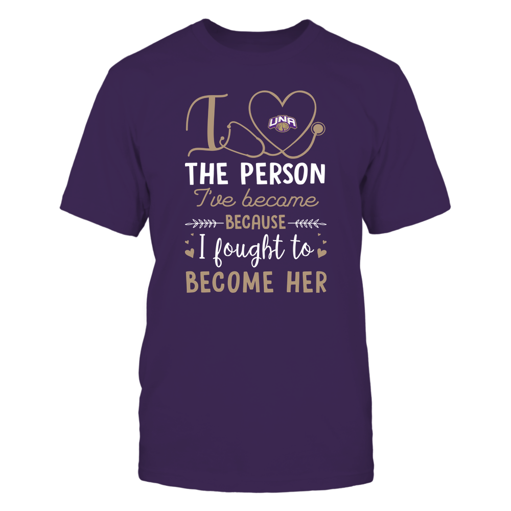 North Alabama Lions - Nurse - I Love The Person I've Become - Team Front picture
