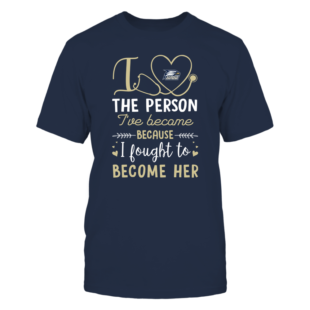 Georgia Southern Eagles - Nurse - I Love The Person I've Become - Team Front picture