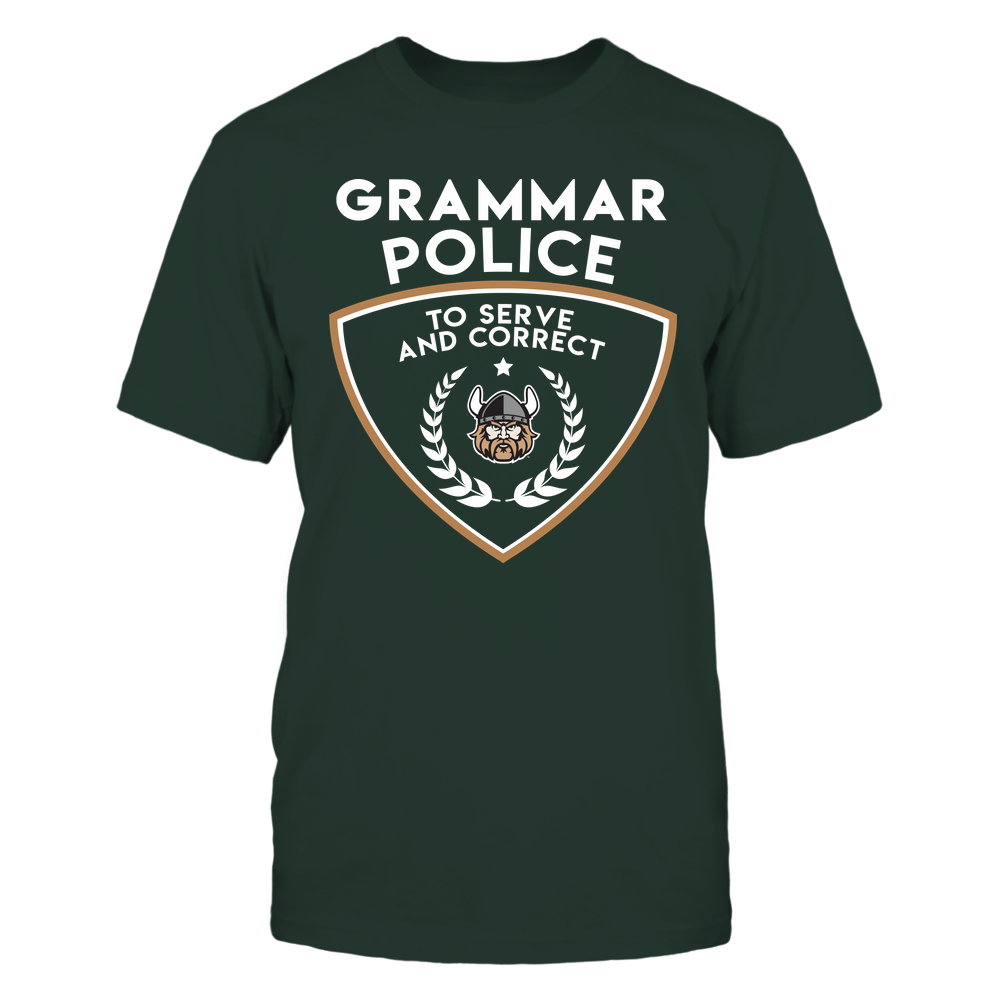 Cleveland State Vikings - Teacher - Grammar Police - To Serve And Correct - Team Front picture