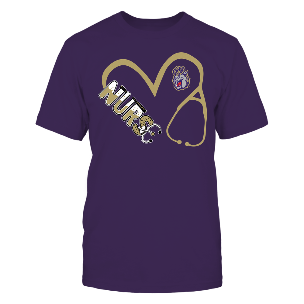 James Madison Dukes - Nurse - Heart 3-4 Nurse Things Stethoscope - Team Front picture
