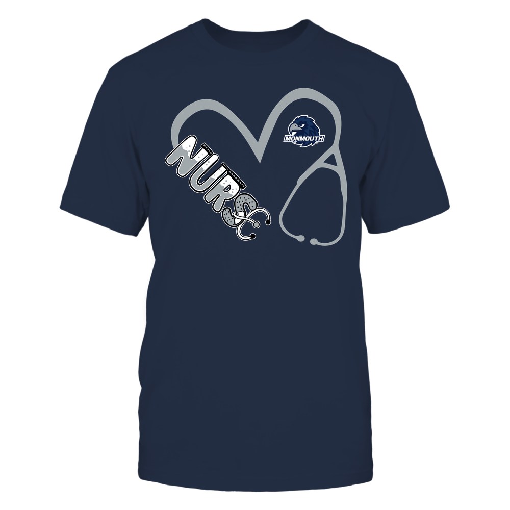 Monmouth Hawks - Nurse - Heart 3-4 Nurse Things Stethoscope - Team Front picture