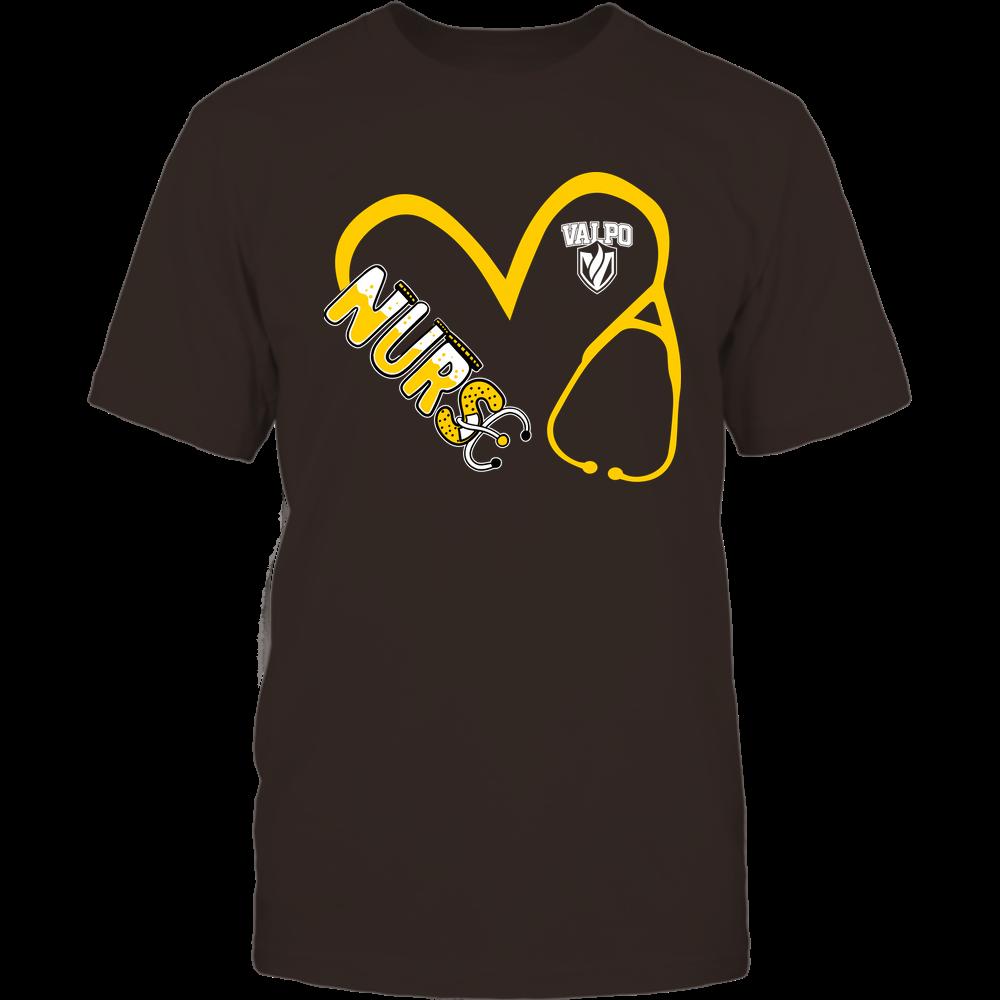 Valparaiso Crusaders - Nurse - Heart 3-4 Nurse Things Stethoscope - Team Front picture