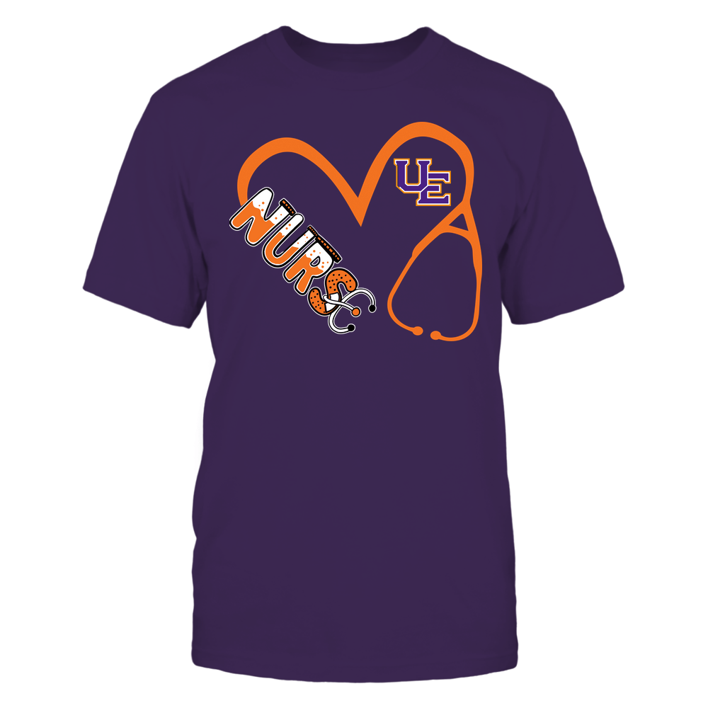 Evansville Purple Aces - Nurse - Heart 3-4 Nurse Things Stethoscope - Team Front picture