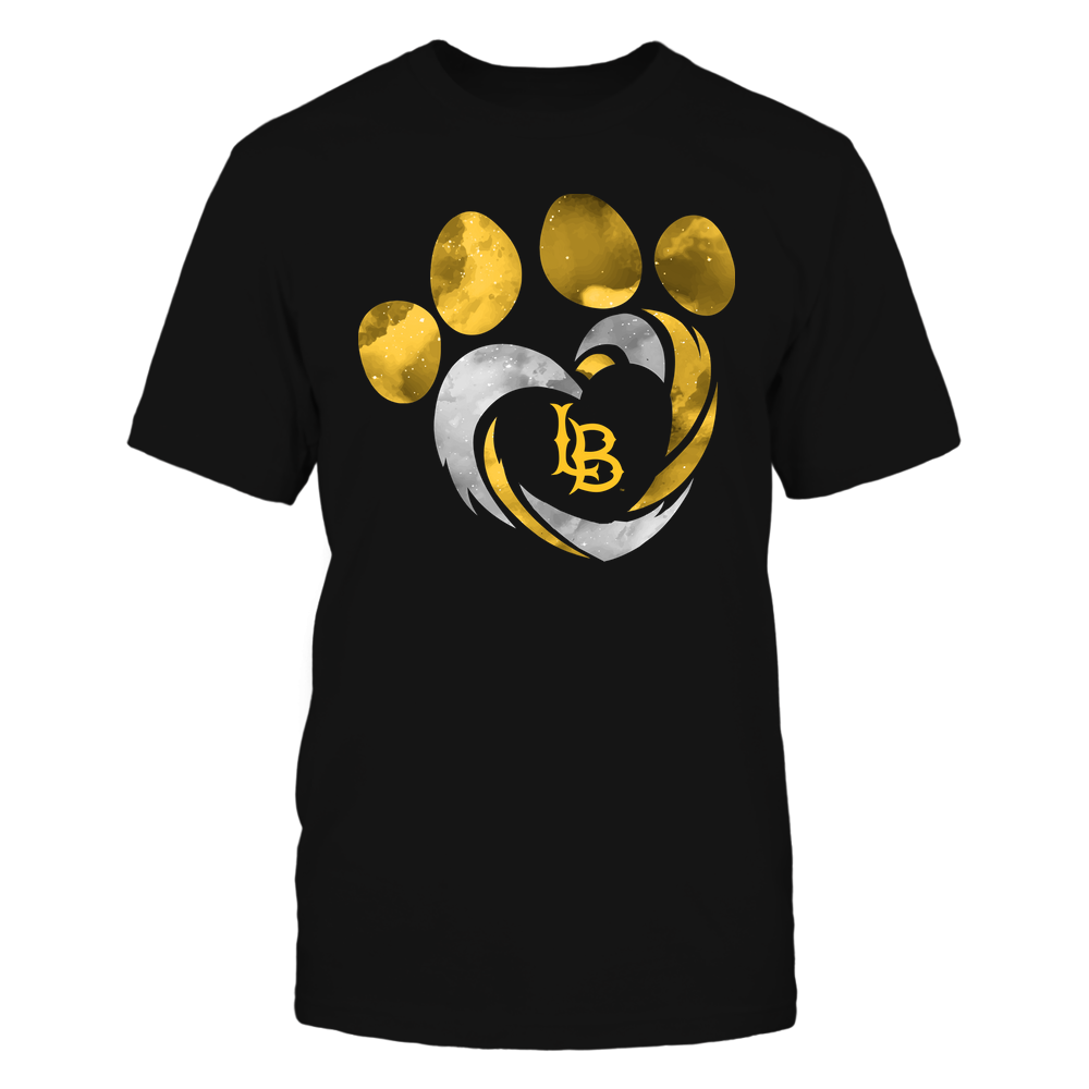 Long Beach State 49ers - Galaxy Hurricane - Paw Heart - Team Front picture