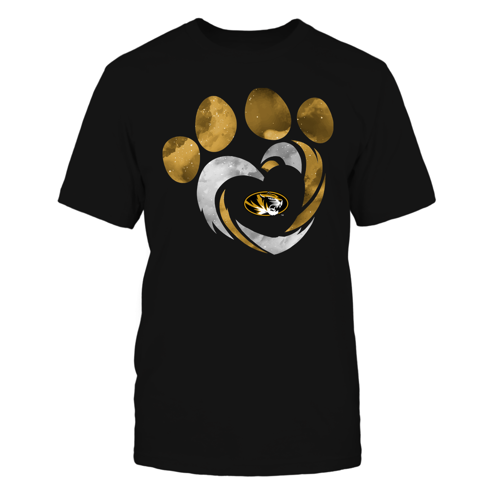 Mizzou Tigers - Galaxy Hurricane - Paw Heart - Team Front picture