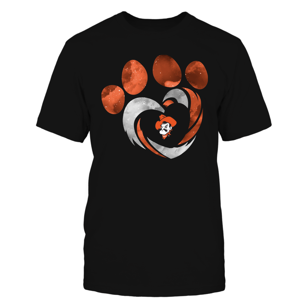 Oklahoma State Cowboys - Galaxy Hurricane - Paw Heart - Team Front picture