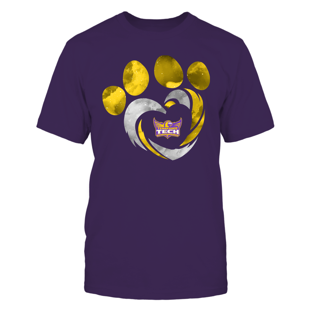 Tennessee Tech Golden Eagles - Galaxy Hurricane - Paw Heart - Team Front picture
