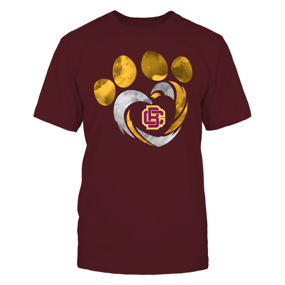 Bethune-Cookman Wildcats - Galaxy Hurricane - Paw Heart - Team Front picture
